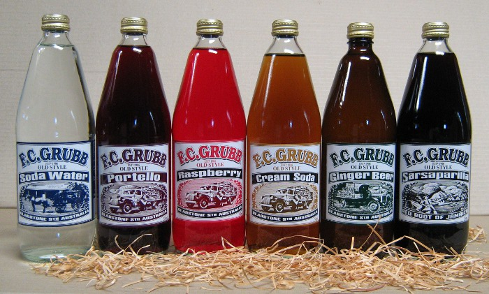 750ml ginger beer, soda water and sarsaparilla. click for product descriptions.